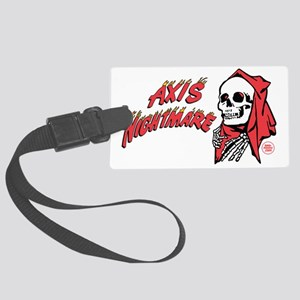 Axis Nightmare WW2 Nose Art Large Luggage Tag