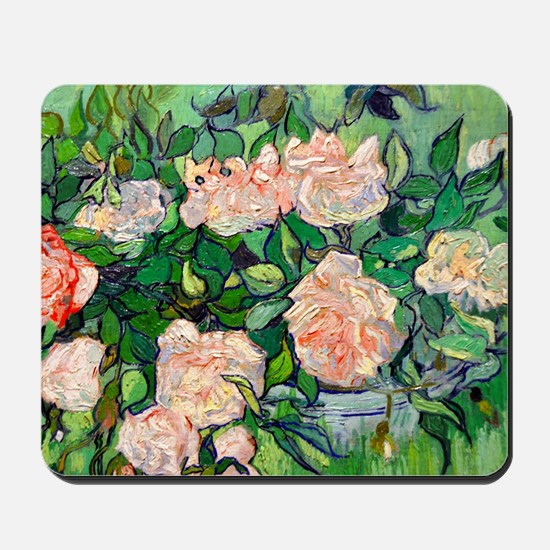 GC VG Pink Roses Mousepad