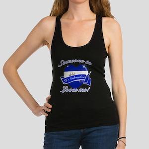 el salvador Racerback Tank Top