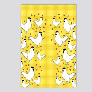 flipflops-chick3 Postcards (Package of 8)