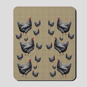 flipflops-chick6 Mousepad