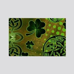 IRISH-BEACH-TOTE Rectangle Magnet
