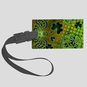 IRISH-BEACH-TOTE Large Luggage Tag