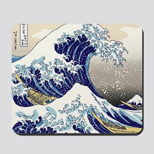 Hokusai_Great_WaveShowerCurtain2 Mousepad