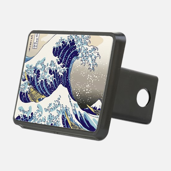 Hokusai_Great_WaveShowerCu Hitch Cover