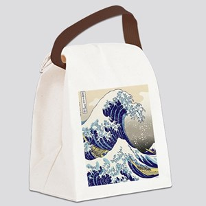 Hokusai_Great_WaveShowerCurtain2 Canvas Lunch Bag