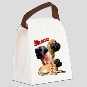 MastiffapricotTrio2 Canvas Lunch Bag