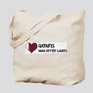 Qatar - better lovers Tote Bag