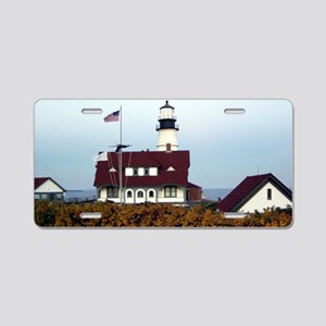 PHL in Fall Framed Print Aluminum License Plate