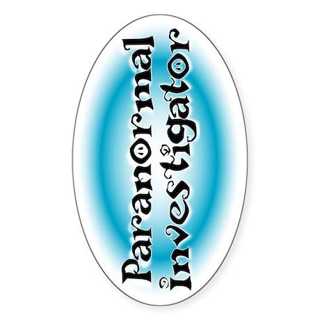 paranormteeside Sticker (Oval)
