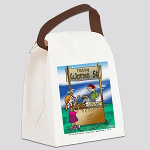 8593_economics_cartoon Canvas Lunch Bag