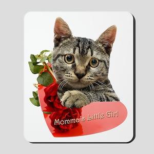 Gray Kitten Mommas Girl Mousepad