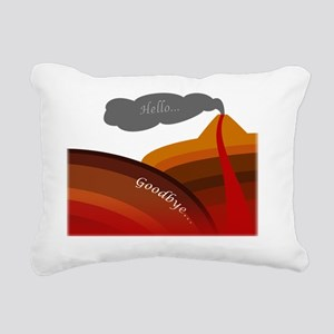 subduction Rectangular Canvas Pillow