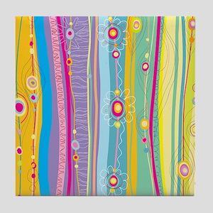 showercurtain8 Tile Coaster