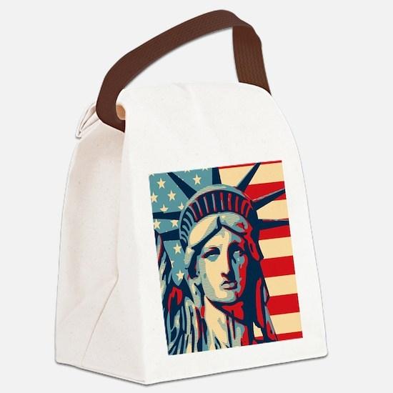 showercurtain9 Canvas Lunch Bag