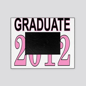 graduate 2012 pink and black Picture Frame
