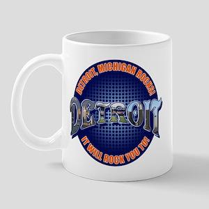 Detroit Michigan Rocks! Mug
