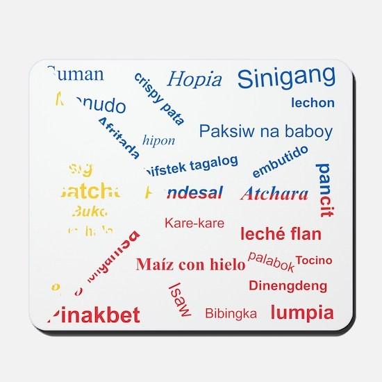 favorite words Mousepad
