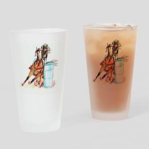 96x96_barrelracer Drinking Glass