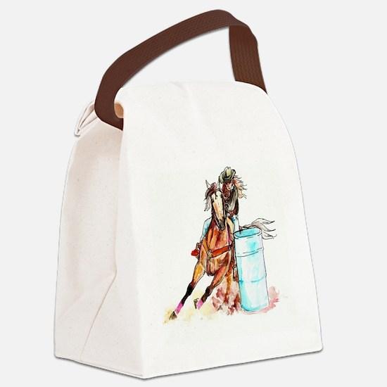 71x72_barrelracer Canvas Lunch Bag