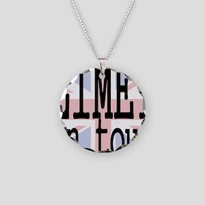 limey-tour Necklace Circle Charm