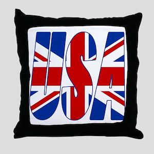 USA Throw Pillow