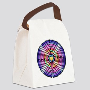 Labyrinth4-with shine1 Canvas Lunch Bag