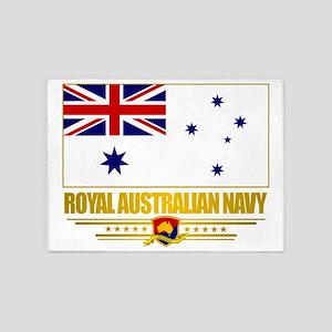 RAN Ensign (Flag 10)2 5'x7'Area Rug