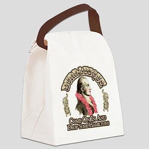 burr-lesque Canvas Lunch Bag