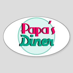 Papas Diner Sticker