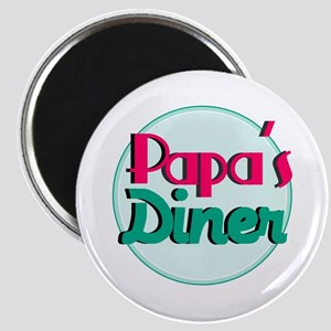 Papas Diner Magnets