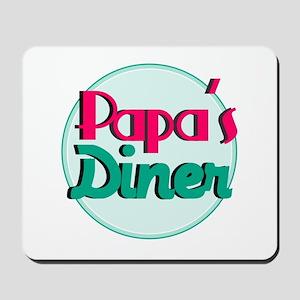 Papas Diner Mousepad