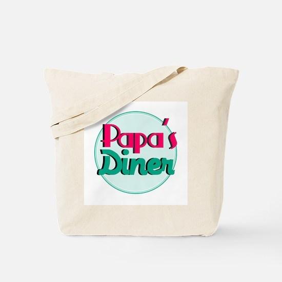 Papas Diner Tote Bag