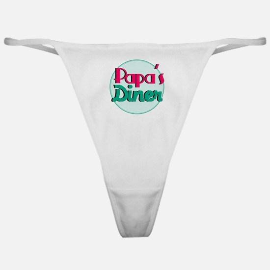 Papas Diner Classic Thong