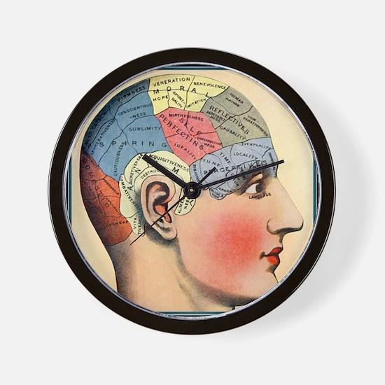 phrenologyhead Wall Clock