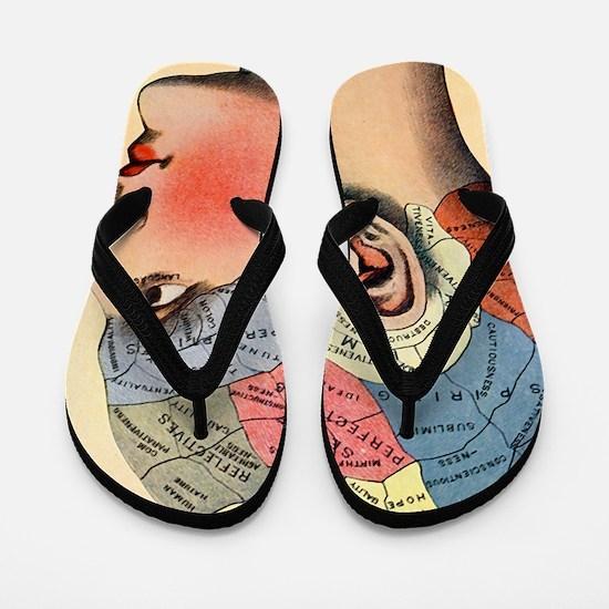 phrenologyhead Flip Flops