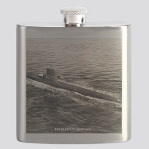bluegill agss framed panel print Flask