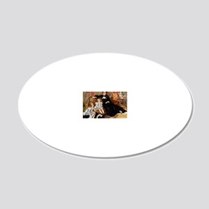 Renoir 20x12 Oval Wall Decal