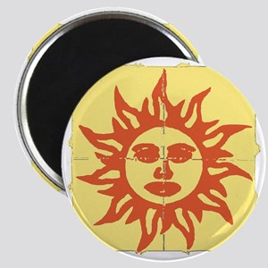 Orange Sunshine Tab Magnet