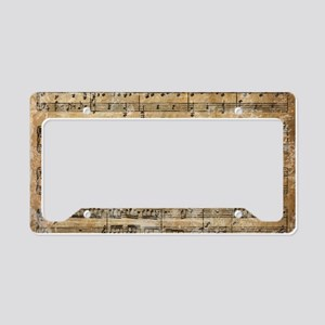 SheetMusic1Iclutch License Plate Holder