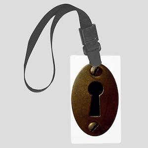 Keyhole Large Luggage Tag