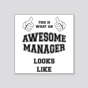 AWESOME MANAGER Sticker