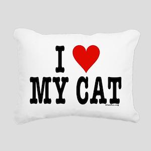 *HeartHoriz4x6 Rectangular Canvas Pillow
