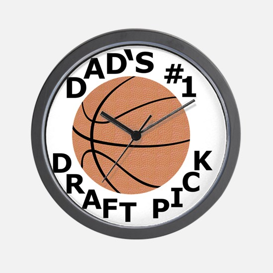 Basketball T-Shirt, Gifts for Dads Son, Wall Clock