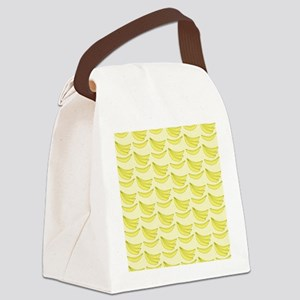 Banana FlipFlops Canvas Lunch Bag