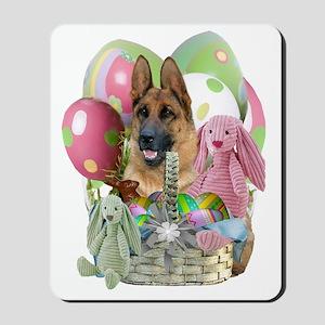 German Shepherd Easter Apparel  Gifts Mousepad