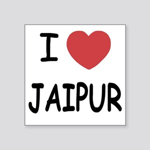 "JAIPUR Square Sticker 3"" x 3"""