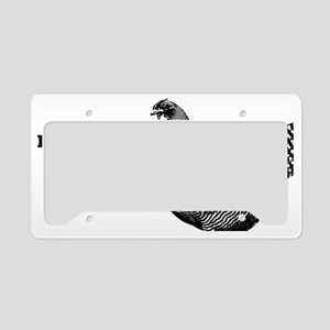 lp-chick-3 License Plate Holder