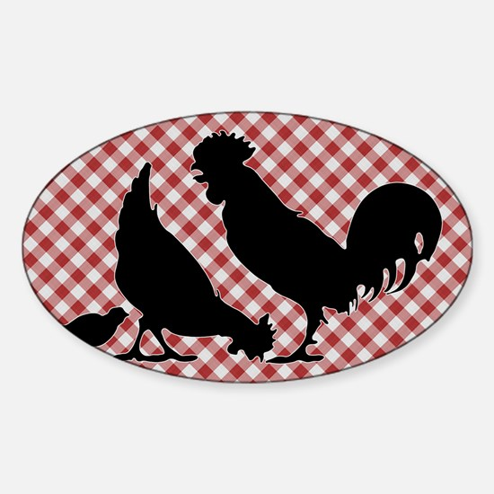 lp-chick-5 Sticker (Oval)