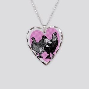 chick-brahma Necklace Heart Charm